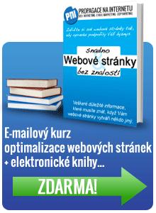 Odkaz na emailový kurz optimalizace webových stránek a elektronické publikace zdarma