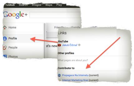 Jak nastavit autorství v Google Plus